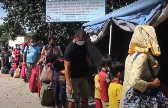 गौरीफन्टा नाकामा लामबद्ध नेपाली, रोग भन्दा भोक ठूलो
