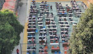 कक्षा १२ को परीक्षा सुरू, चार लाख बढी विद्याथी सहभागी